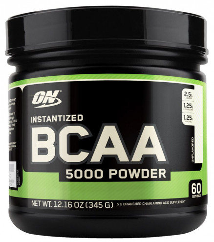 Optimum Nutrition BCAA 5000 Powder (345 г) Unflavored