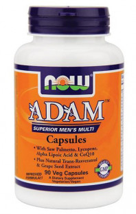 NOW Adam Mens Multivitamin (90 кап)