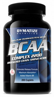 Dymatize Nutrition ВСАА Complex 2200 (200 с)