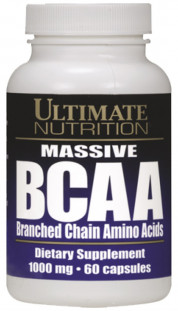 Ultimate Nutrition BCAA 1000 мг (60 кап)